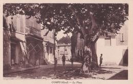 Carte 1930 COMPS / LA PLACE - France