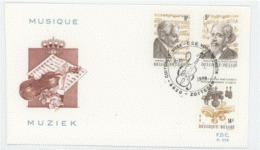 Belgique 1979 Music Musique  FDC - Muziek