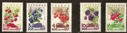 Russia Rusland Russie 1964 Yvertnr 2892-2896 *** MNH Cote 6 Euro Flore Fruit - 1923-1991 USSR