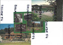 3 CPM - BUSSANG (88) Le Théatre Du Peuple Fondé Par Maurice POTTECHER (1 Très Animée) - Bussang