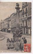 Cpa.88.Epinal.1912.La Fontaine Pinaud.animé Enfants Personnages - Epinal