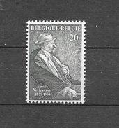 België 1955 Y&T Nr° 967 (**) - Unused Stamps