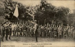50 - CHERBOURG - Eclaireurs De France - Section Cherbourg - SCOUTISME - Cherbourg