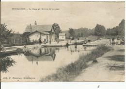 MONTLUCON......ALLIER.......le Canal Et L'Ecluse De La Loue...très Bonne Animation  En 1942 - Montlucon