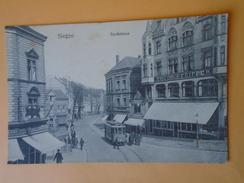 SIEGEN  (Allemagne) -- Tramway Sandstrasse - ANIMATION - Tramways