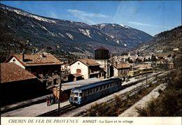 05 - ANNOT - Gare - Train - France