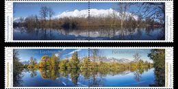 Liechtenstein - Postfris / MNH - Complete Set Natuurparken 2017 - Ongebruikt