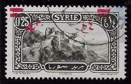 Syrie N°180 - Variété Surcharge Déplacée - TB - Oblitérés