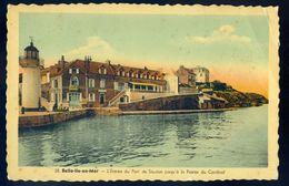 Cpa Du 56  Belle Ile En Mer -- Entrée Du Port De Sauzon Jusqu'à La Pointe Du Cardinal    Sep17-11 - Belle Ile En Mer