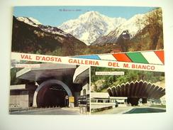TUNNEL DEL MONTE BIANCO AUTO GALLERIE  AOSTA NON     VIAGGIATA COME DA FOTO DOGANA - Dogana