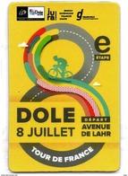 DOLE (JURA) : CYCLISME MAGNET TOUR DE FRANCE 2017 - Sports