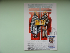 CARTE MAXIMUM CARD EUROPA 2003 VATICAN - Europa-CEPT