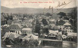 AFRIQUE -- SIERRA LEONE - View Of Freetown - Sierra Leone