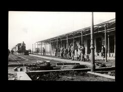 TRAINS - ARGENTINE - PERGAMINO - Photo Locomotive - Train - Gare - Trains