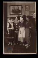 T1244 CARNVAL COSTUMS IN DORNBIRN ( LEONH. HEIM FOTOGRAF DORNBIRN 1928) - Dogana
