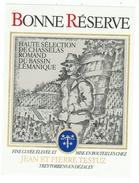 Rare // Chasselas Romand, J P Testuz Treytorrens-Dézaley, Vaud // Suisse - Etiquettes