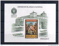 EXFILNA 89 PRUEBA ARTISTA PRIMERA TIRADA (NUM. MENOR DE 20000) PINTURA EL GRECO TOLEDO SAGRADA FAMILIA VALOR CATALOGO MA - Madonnas