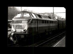 TRAINS - LIEGE - BELGIQUE - Locomotive 6045 - Trains