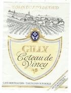 Rare // Gilly, Coteau De Vincy, Cave Berthaudin, Tartegnin Sur Rolle, Vaud // Suisse - Etiquettes