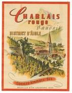 Rare // Chablais Rouge, Société Vinicole De Bex, Vaud // Suisse - Etiquettes