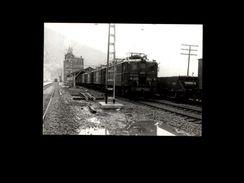 TRAINS - RIPOLL - ESPAGNE - 1978 - Locomotive - Trains