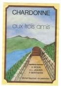 Rare // Chardonne, Aux Trois Amis, Michel Neyroud Chardonne, Vaud // Suisse - Etiquettes