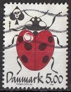1091 Danimarca 1998 Insetti Coleotteri Ladybug Coccinella Reduce Poison Pesticidi Ecologia Used Danmark - Insecten