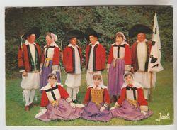 CPSM FOLKLORE COSTUMES MUSIQUE - Groupe Folklorique De BATZ SUR MER (Loire Atlantique) - Costumes