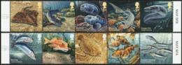 GREAT BRITAIN GB UK 2014 Sustainable Fish, Fishes, Fauna MNH - 1952-.... (Elizabeth II)