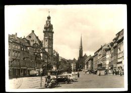T1266 ALTENBURG - MARKT MIT RATHAUS UND BRUDERKIRCHE - Altenburg