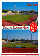 AK Stadion Postkarte Stadio Romeo Neri Club Rimini Calcio AC 1912 Italia Italy Italien Calcio Football Stadium Postcard - Fussball