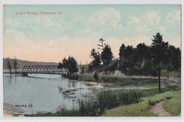 SWANTON (Vermont) - John's Bridge - Etats-Unis