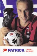 -P. PAPIN  CECI EST UNE PUB   A METZ DS LES ANNEES 93-95 AVEC DEDICACE - Calcio