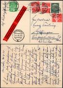 Germany - Eilboten / Express Stationary Card P 226 + Mi. 515, 572x3 MiF. HERSFELD 30.4.1935 - Göttingen. - Deutschland