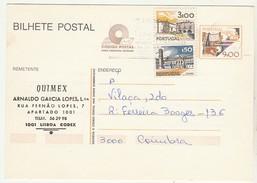 Postal Stationery * Portugal * 1983 * Quimex * Lisboa * Com Taxas Adicionais  * Linha Fosforescente - Postwaardestukken