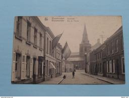 Kerkstraat - Rue De L'Eglise ( De Cock - Van Puyvelde ) Anno 19?? ( Zie Foto Details ) !! - Waasmunster