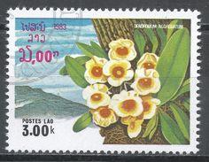 Laos 1983. Scott #469 (U) Dendobium Aggregatum, Flowers, Fleurs - Laos