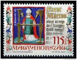 Hungary 2016 Mih. 5816 Saint Martin Of Tours MNH ** - Hungary