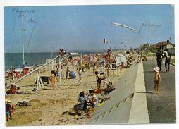 HERMANVILLE---1968--La Plage Et La Digue--Promenade (animée,pubs LE FIGARO , AIR FRANCE )--cachet - Andere Gemeenten