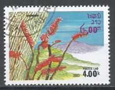 Laos 1983. Scott #470 (U) Dendobium, Flowers, Fleurs - Laos