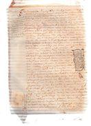 ANTOINE LABBEY,écuyer Seigneur De La MOTTE  Et Du Boidhardrey En Saint-Léonard.René De CHATEAU TIERRY.1 Page.2 Mai 1698. - Documents Historiques