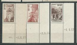 FRANCE  N°  345/47  **  TB - Unused Stamps