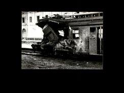 TRAINS - MANRESA - ESPAGNE - Locomotive RENFE - Accident Ferrovière - 1974 - Trains