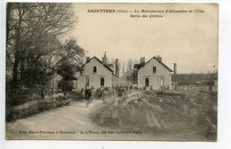 Saintines La Manufacture D'allumettes Sortie Des Ateliers - Sonstige Gemeinden