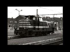 TRAINS - GAND - BELGIQUE - Locomotive 8053 - 1977 - Trains