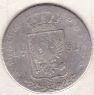 PRUSSIA , 1/3 Thaler 1791 E . Friedrich Wilhelm II, En Argent, KM# 344 - Taler Et Doppeltaler