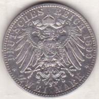 PRUSSIA. 2 Mark 1899 A, Wilhelm II , En Argent, KM# 522 - [ 2] 1871-1918: Deutsches Kaiserreich