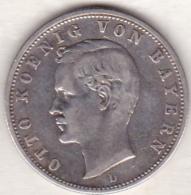BAVARIA . 2 Mark 1906 D , Otto , En Argent, KM# 913 - [ 2] 1871-1918: Deutsches Kaiserreich
