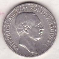 SAXONY-ALBERTINE. 2 Mark 1914 E , Friedrich August III , En Argent, KM# 1263 - [ 2] 1871-1918: Deutsches Kaiserreich
