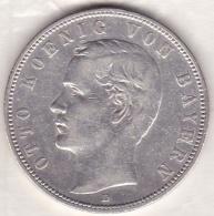BAVARIA. 5 Mark 1904 D , Otto , En Argent, KM# 915 - [ 2] 1871-1918 : German Empire